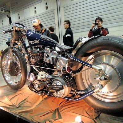 Yokohama hotrod custom show 2013 Hcs2013 Harleydavidson Shovelhead Chopper bobber cherryscompany