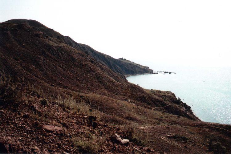 35mm Authentic Cliff Crimea EyeEm Nature Lover Geology Hidden Gems  Hill Idyllic Landscape Mju2 Mjuii Mountain Nature Olympus Outdoors Real Rock Rock Formation Sea Travel Unusual Wildness
