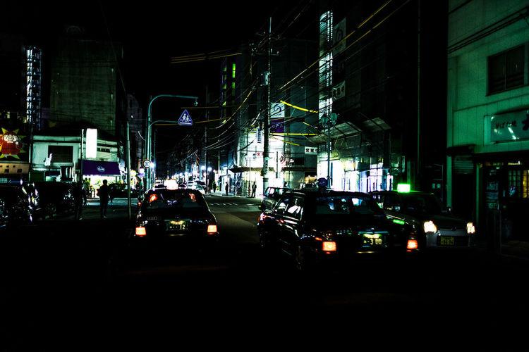 Night Life Nightphotography Streetphotography Taxycab