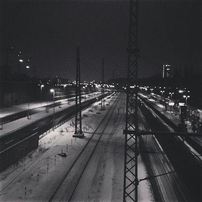 home #hometown #lights #train #station #snow #traffic #cold #dtown #beautiful #view Lights Beautiful View Train Station Traffic Snow Cold Hometown Dtown