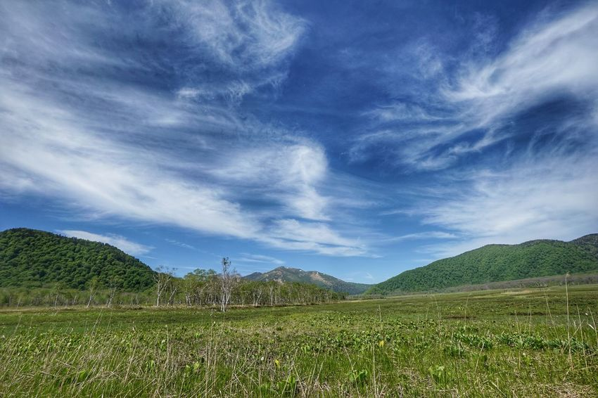 Sky Wetlands Trekking Outdoors Landscape EyeEm Best Shots Nature_collection EyeEm Nature Lover Landscape Correction Mountain View Mountain Mountain Range Mountains Mountain Peak Sky_collection Clear Sky Cloud - Sky Clouds And Sky Nature 池糖 Pond