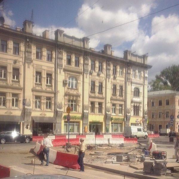Архитектура_Москвы красиво Красоты_Москвы Старинная_Москва Чистые_Пруды