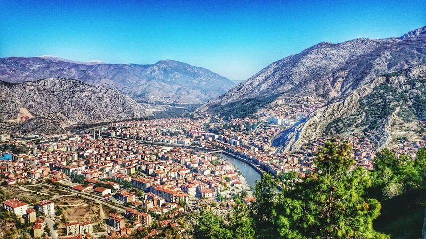 Landscape River Yeşilırmak Amasya City PhonePhotography Xperiaz2 Sky Hills Valley