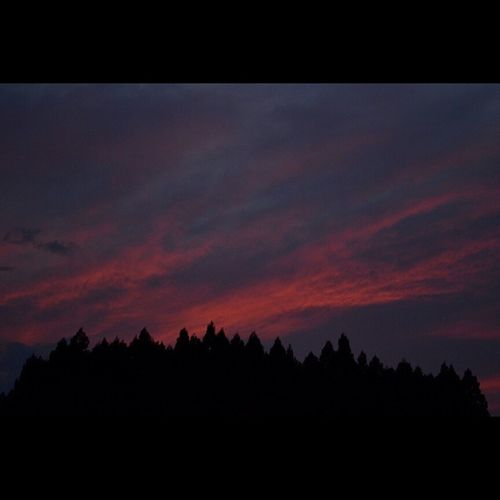 夕焼け 風景