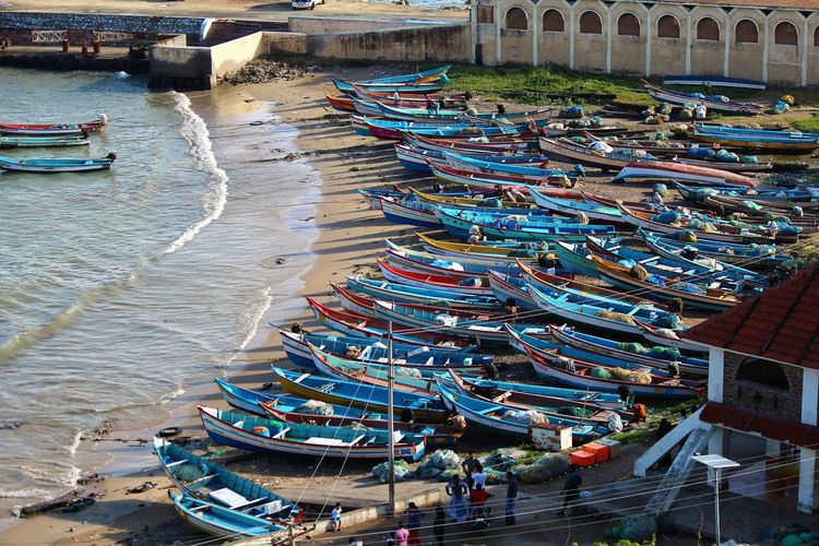 Beach Life India South India Beach Kerala Kerala India Lot Of Ships Nautical Vessel Sea Ships Water