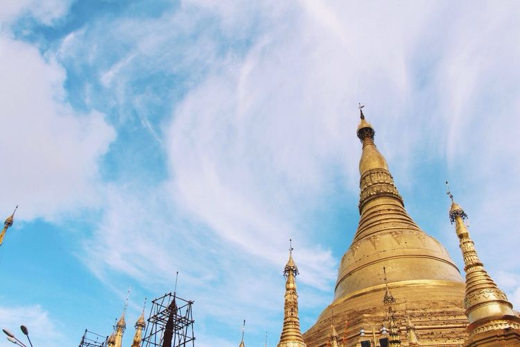 Pagoda Shwe Dagon Golden
