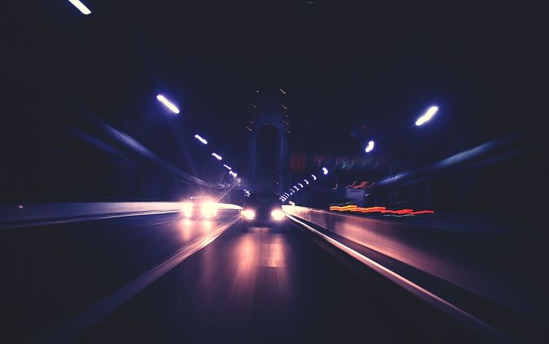 Bridge Bridge - Man Made Structure Back In 2010 Architecture Blurred Motion Long Exposure Transportation Night Illuminated