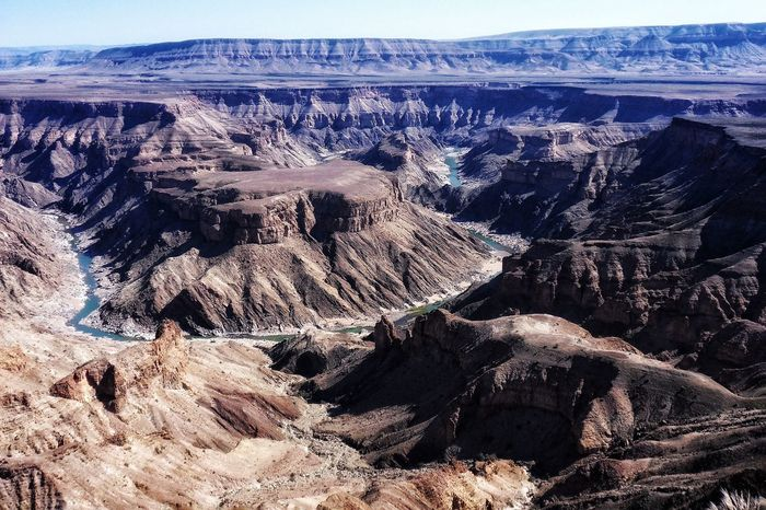 National Park Travel Destinations Africa Hiking Rock Formation Canyon River EyeEm Selects Nature Day No People Outdoors Physical Geography Scenics Landscape Beauty In Nature Textured