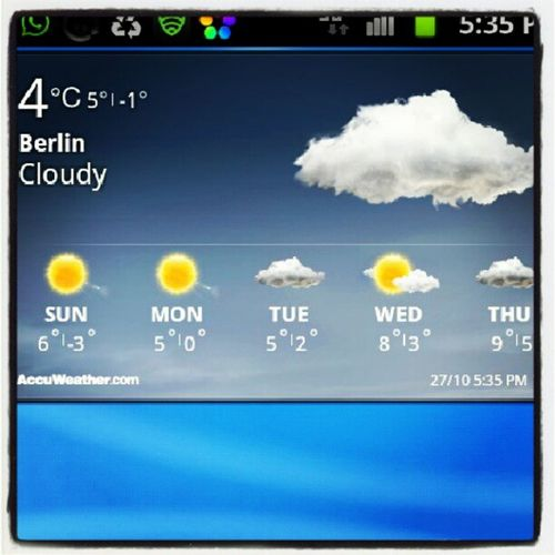 4°C .. and this is just October, can't wait for Nov and Dec -_- Berlin Wannabeelsewherebuthot
