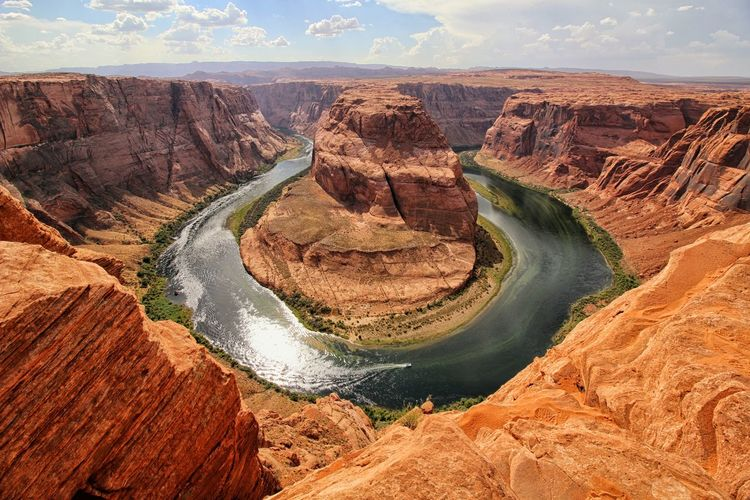 Cliff Famous Place Geology Grand Canyon Horseshoe Horseshoe Bend Landscape Rock Formation Rocks Tranquil Scene Travel Destinations USA The Great Outdoors - 2017 EyeEm Awards
