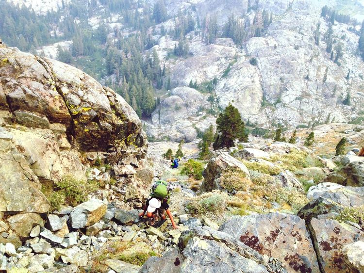 Mammoth To Yosemite Outdoors Day Nature High Angle View Sunlight Mountain Climbing Backpacking Path Less Traveled Sierras Young Adult This Is Masculinity California Dreamin Go Higher Summer Exploratorium A New Beginning