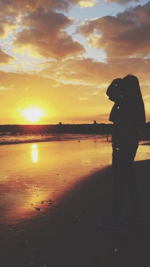 Sunset Temperature Photography Girl