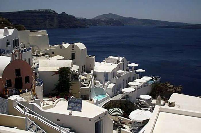 Santorini, Greece Sea Sunshine Whitebuildings