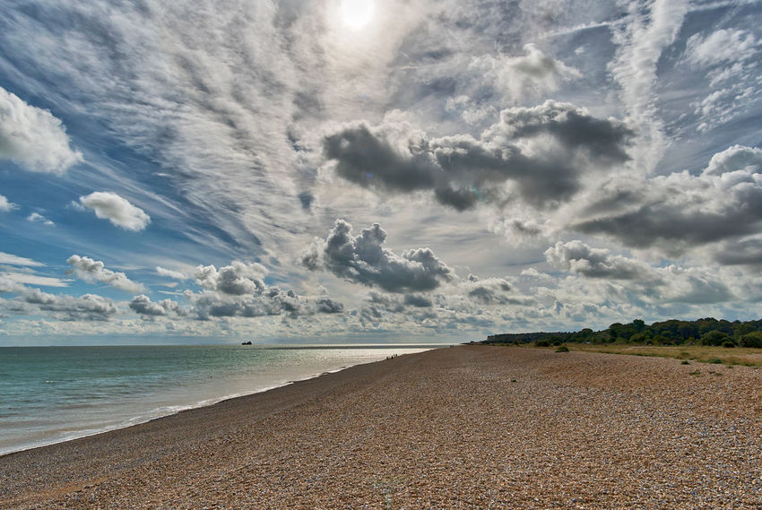 Aurora 2018 HDR Walimex 12mm Beach Beauty In Nature Cloud - Sky Day Horizon Over Water Landscape Nature No People Outdoors Sand Scenics Sea Sky Tranquil Scene Tranquility Water