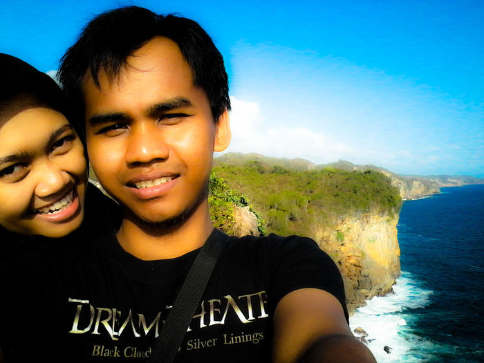 Relaxing Enjoying Life Laut Bekah Yogyakarta