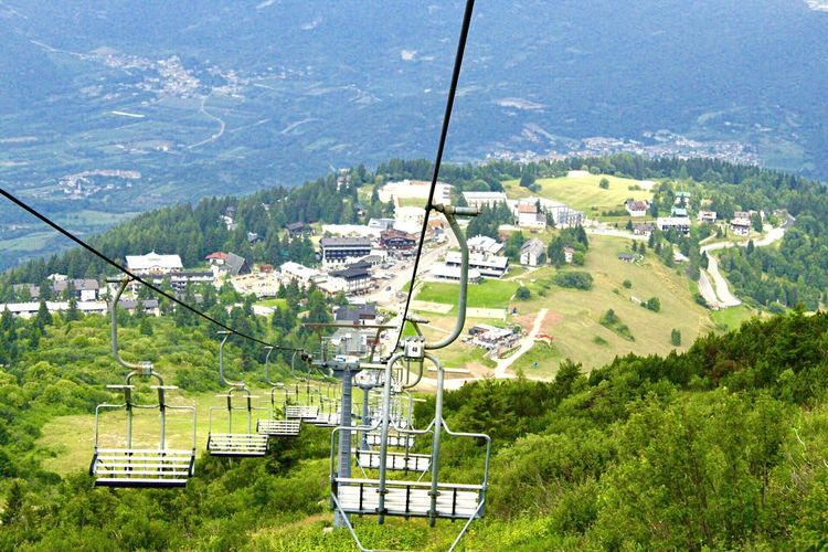 Seggiovia 🚠 Monte Bondone Vason Trento, Italy Trento Monte Bondone Plant High Angle View Nature Cable Car Day Green Color Overhead Cable Car Architecture Transportation Ski Lift Beauty In Nature Growth Mountain Land Scenics - Nature Mode Of Transportation Tree Built Structure No People Field