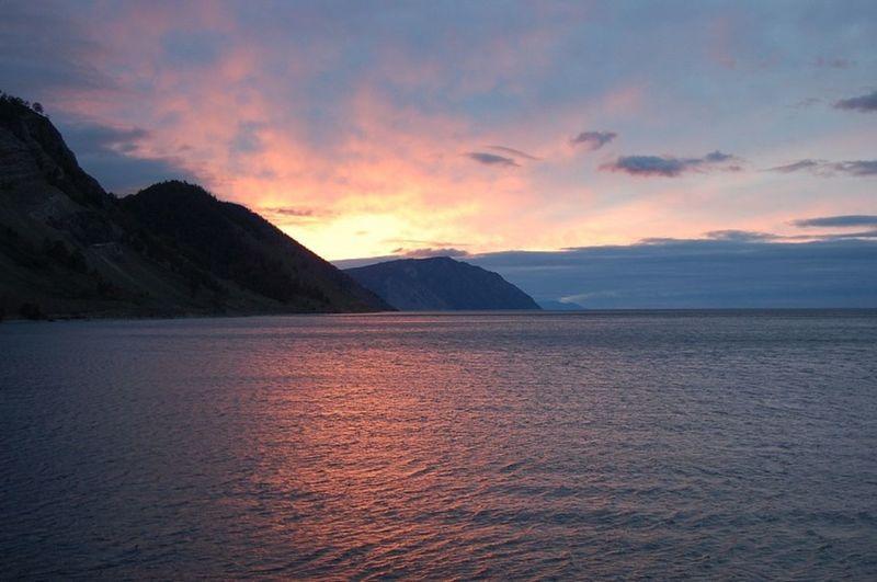 Beautiful Sunrise Baikal Russia M.Uhan First Eyeem Photo Baikal Olhon Russia