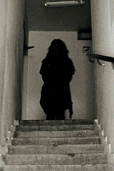 Staircase Steps Steps And Staircases One Person One Woman Only Architecture Adult Built Structure Indoors  Only Women People Adults Only Spooky Women Full Length One Young Woman Only Day