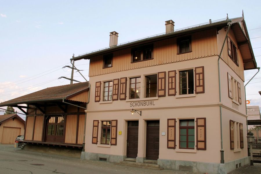 Building Exterior Architecture Building Old Old Train Station Switzerland Built Structure House Outdoors No People Day Schönbühl, Switzerland HJB