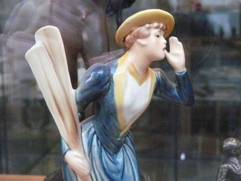 Antique Figurine  Woman