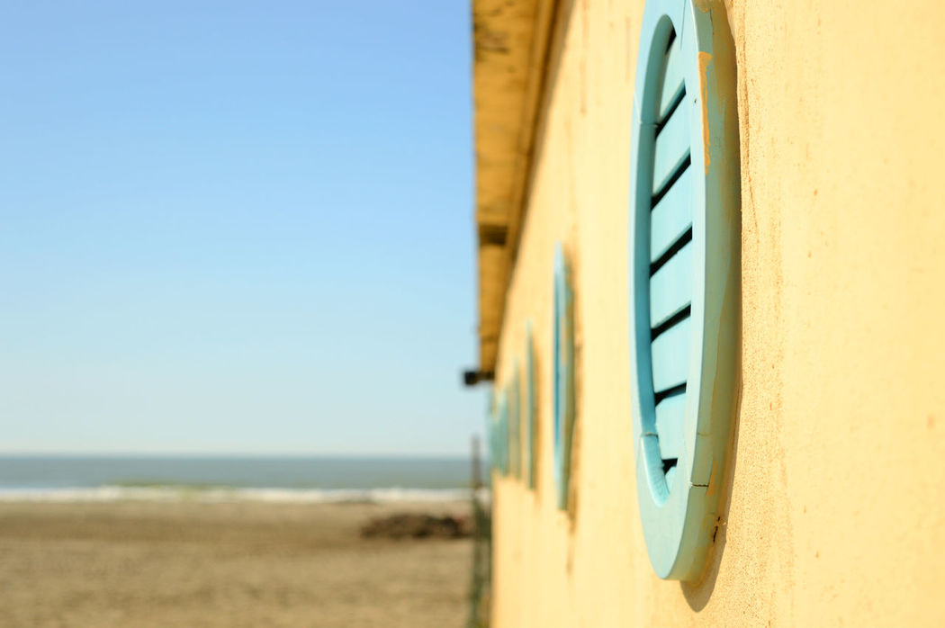 Beach Beach Huts Cropped Dof In A Row Leading Part Of Sand Structure Wall Windows Wood - Material Showcase March