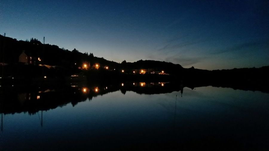 Not A Ripple Tarbert Newbie Scotland Sea Dailyphoto Mobile Photography Harbour Marina Tim Bailie Nightphotography Reflection Mirror Upside Down Dusk No Filter, No Edit, Just Photography No Filter Check This Out Sky And Sea Skyporn Silouhette Sunset EyeEm Best Shots Phone Photography Mirrorimage