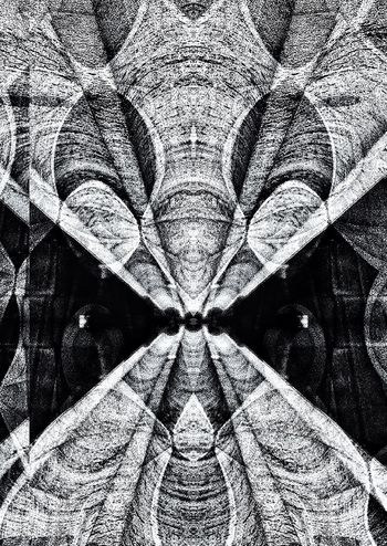 Decim8 Abstractions In BlackandWhite Abstractarchitecture