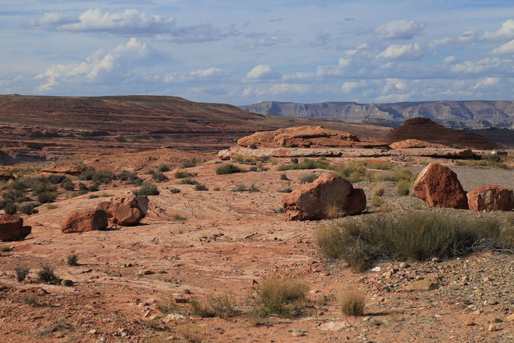 Arid Climate Beauty In Nature Cloud - Sky Day Fossil Landscape Mountain Nature No People Outdoors Scenics Sky