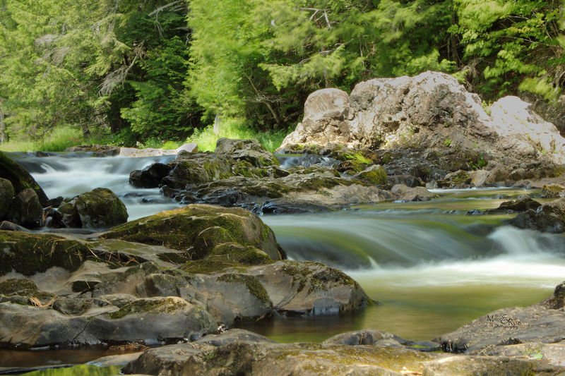 Flowing Water Nature Serenity Beauty In Nature Long Exposure Mountain Stream, Mountain Creek Nature_collection Serene Outdoors Water