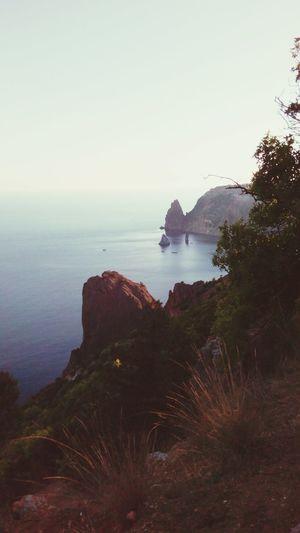 Sea Море фиолент природа и красота приключения ПриродаМоимиГлазами прогулка Было весело. Надо повторить))) First Eyeem Photo