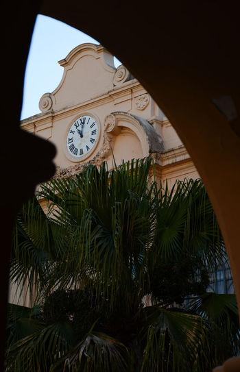 Patio Arch Arco Clock Clocktower Historico History Reloj Torre De Reloj The Architect - 2018 EyeEm Awards