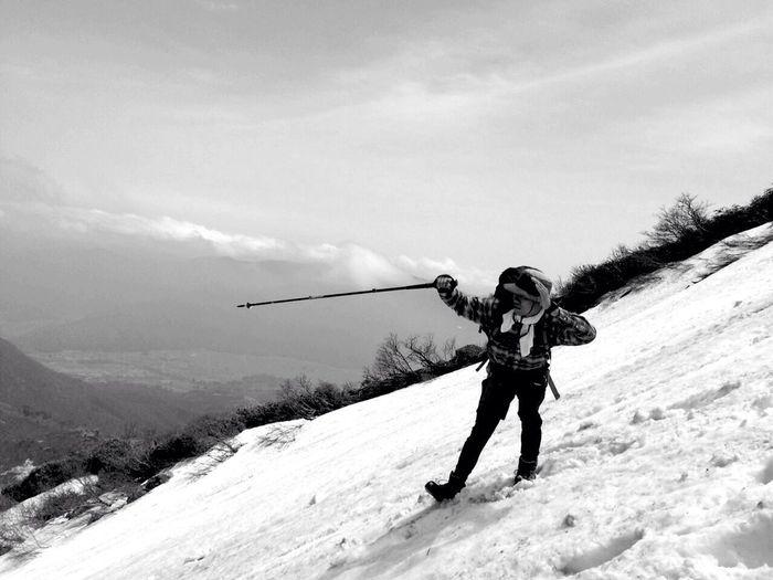 磐梯山 Mountains Snow Trecking