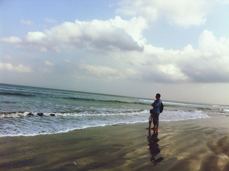 The Moment - 2014 EyeEm Awards remarkable moment that we never forget.. 6 am view at Pantai Kuta (Kuta Beach)