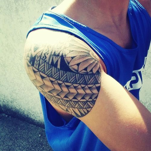 Tahitian Boy Tatoo France Summer