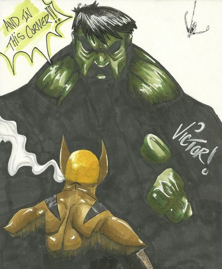 Illustrator Drawing Check This Out Marvel Comics