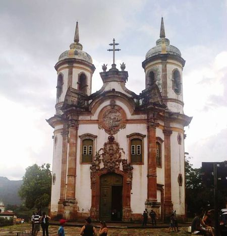 Historical Building History Historical Monuments Historical Place Ouropreto Minasgerais Brazil Churches Historical Church