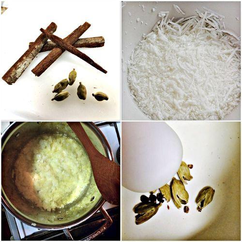 Nepali Food Rice Basmati Coconut Seasonings