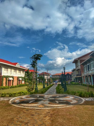 Sky Cloud - Sky Tree Steps Travel Destinations Outdoors Architecture Day Travelphotography Tour Bataan Philippines LascasasfilipinasdeacuzarArchitecture Building Exterior Stone History