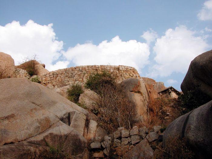 Chitradurga At the Chtradurga Fort, a historical place, Karnataka State,India .