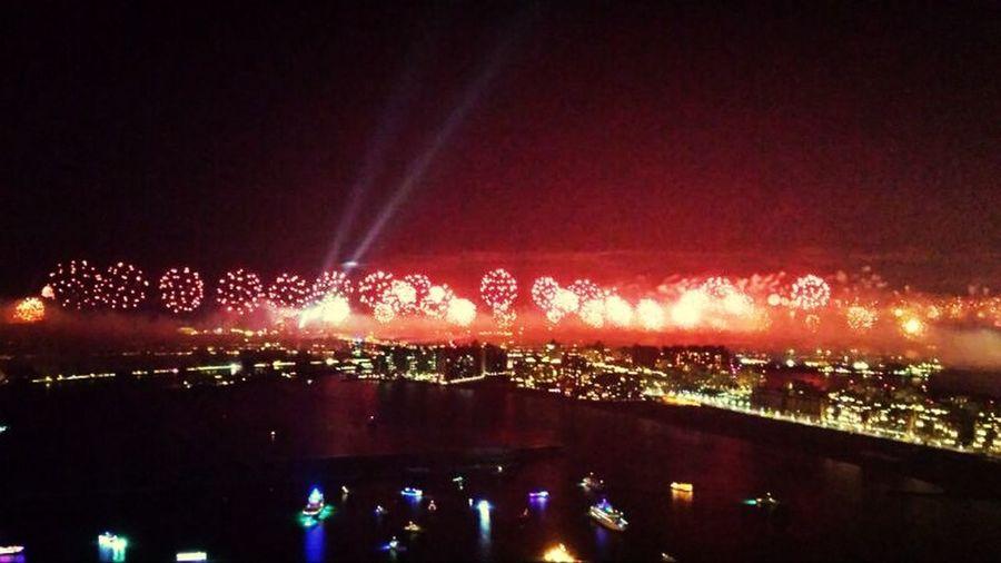 Dubai Guinness Fireworks
