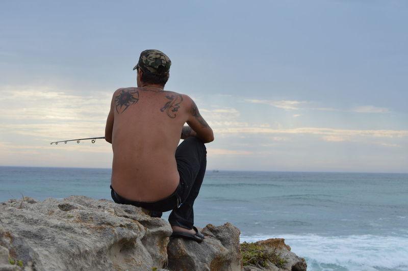 fishing time -