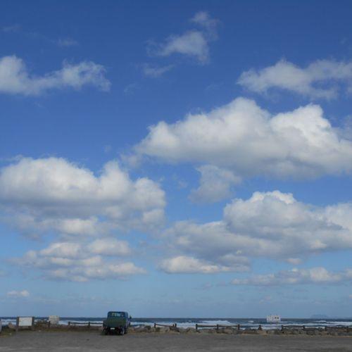 Sea And Sky Seascape Seaside 岡垣海岸 (*^^*)