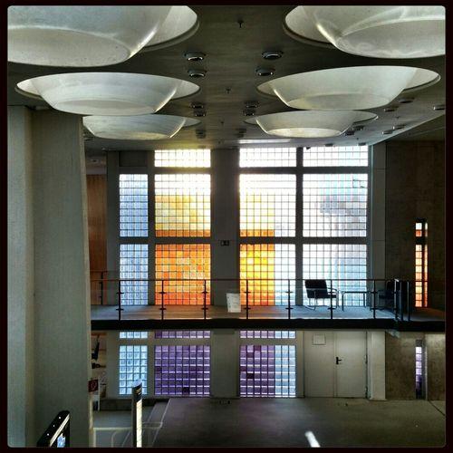 Buntglas Architecture Berlin Scharoun