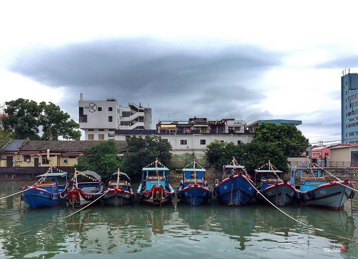 Xiamen Boat Cloud - Sky Sky Nautical Vessel Waterfront