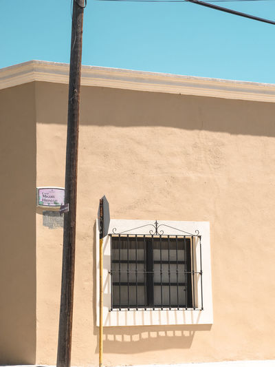 Abstract Abstract Photography Architecture Blue Built Structure Closed Composition Day Exterior Geometry Linares Mexico Mexico City No People Noon Old Outdoors Residential Building Residential Structure Sky Sunlight Urban Geometry Village Village Life