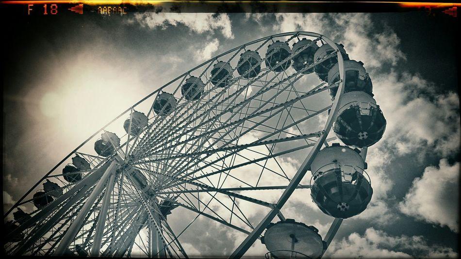Ferris Wheel Kirmes! Roundandround Bnw_collection