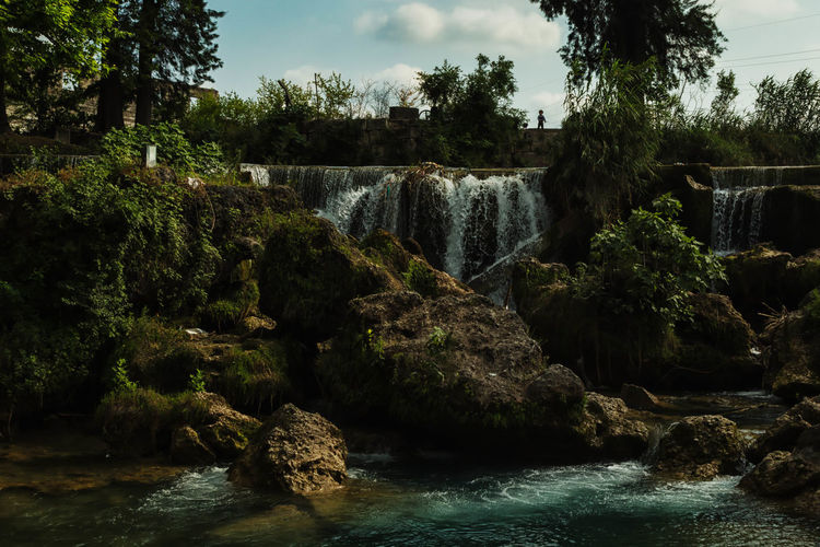 Waterfall Autumn, Background, Backgrounds, Beauty, Blue, Bright, Cliff, Climate, Fall, Flower, Forest, Garden, Green, High, Journey, Lake, Landmark, Landscape, Leaf, Life, Mountains, Nature, Nobody, Outdoors, Palm, Park, Resort, River, Rock, Scene, Scenics, Side, S Beauty In Nature Cloud Cloud - Sky Day Flowing Flowing Water Growth Idyllic Motion Nature No People Outdoors Plant River Rock Rock - Object Rock Formation Scenics Sky Tarsus, Turkey, Waterfall, South, Tranquil Scene Tranquility Tree Water