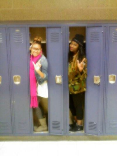 Locker Buddies ! Lol