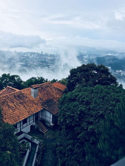 Beautiful nature from Penang Hill Water Sky Cloud - Sky Nature Sea Architecture Tree Beauty In Nature Outdoors Scenics - Nature Day My Best Photo