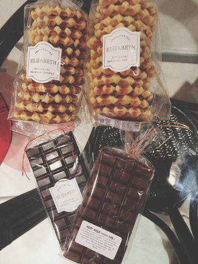 Bruxelles direct sur les hanches Chocolat Gauffre Bruxelles